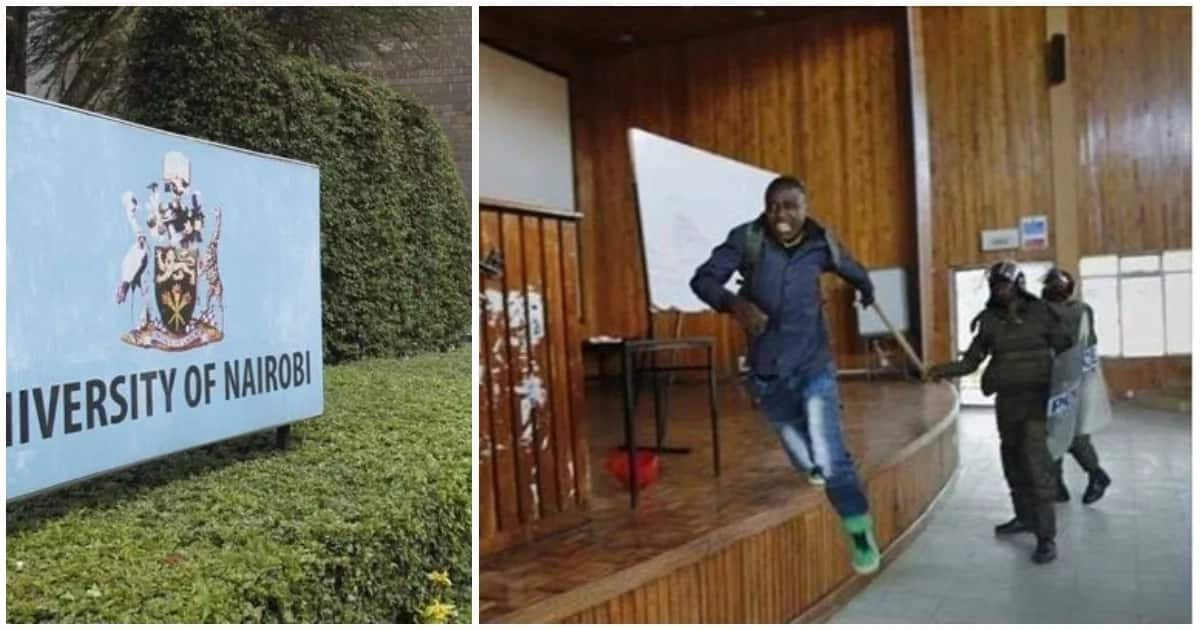 Chaos erupt at UoN after new students leader was sworn into office before elections