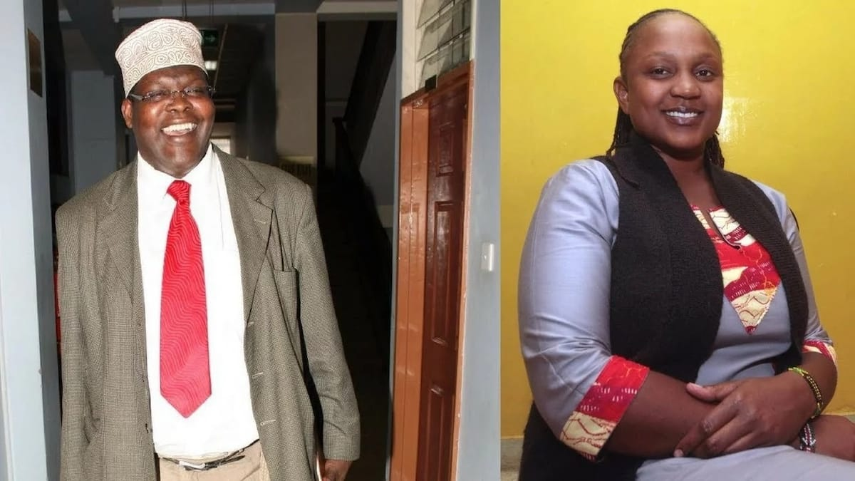 Miguna Miguna's running mate Karen Wangenye pulls out of race, cites poor working relations with the Nairobi gubernatorial candidate