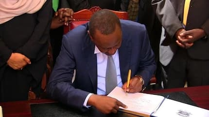 Uhuru says he will not sign into law bill granting MPs free cars, rent-free houses
