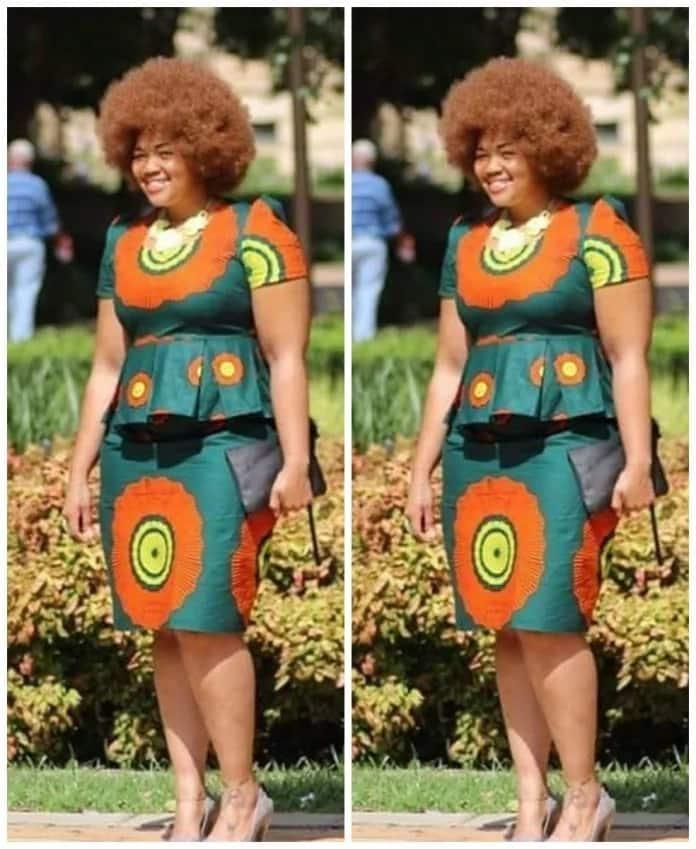 Kitenge designs - skirt and top