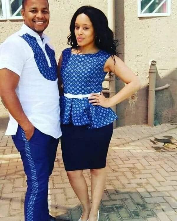 ankara africa wear for couples