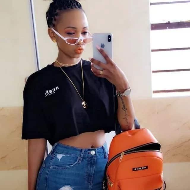 Socialite Huddah Monroe blasts single parents days after Vera Sidika announced pregnancy