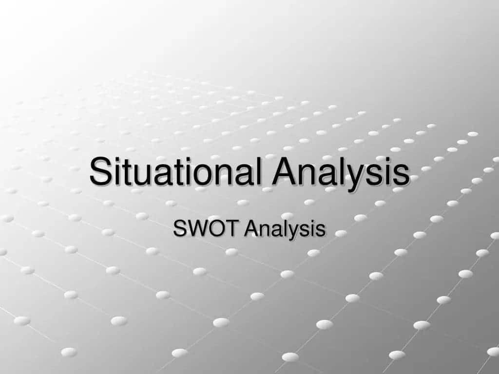 situational analysis  situational analysis definition unemployment in kenya situational analysis