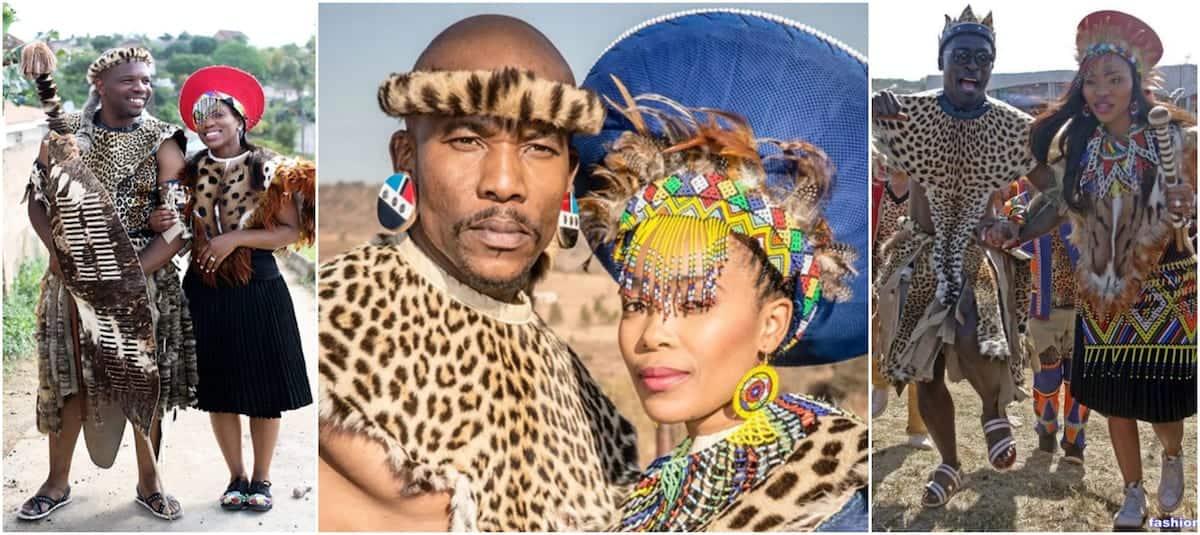 Zulu Traditional Wedding Attire Tuko.co.ke