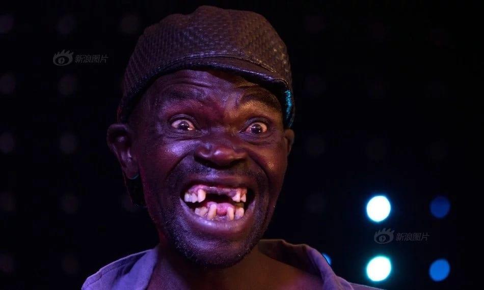 Hakuna mtu anayebishana na mimi katika shindano la kuwa sura mbaya-Jamaa kutoka Zimbabwe asema