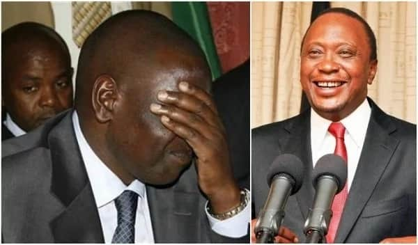 Uhuru briefly unfollows his deputy on Twitter and Kenyans can't keep calm