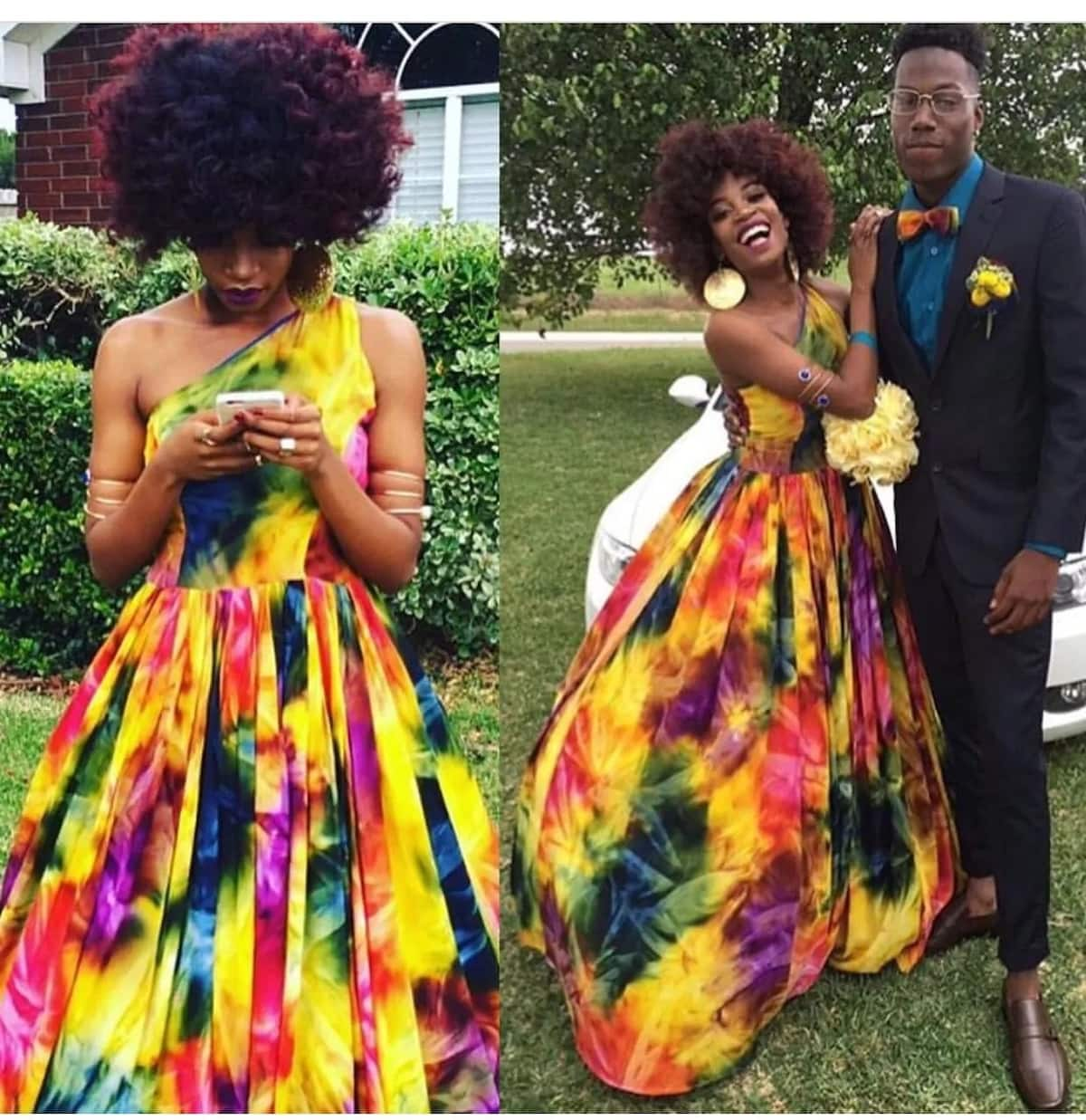 African print prom dress designs 2018