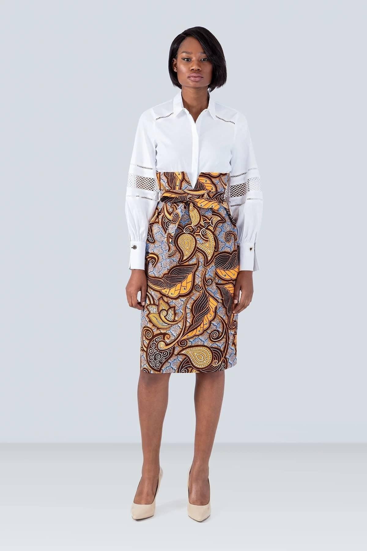 Pencil skirts, Kitenge pencil skirts, Ankara pencil skirts