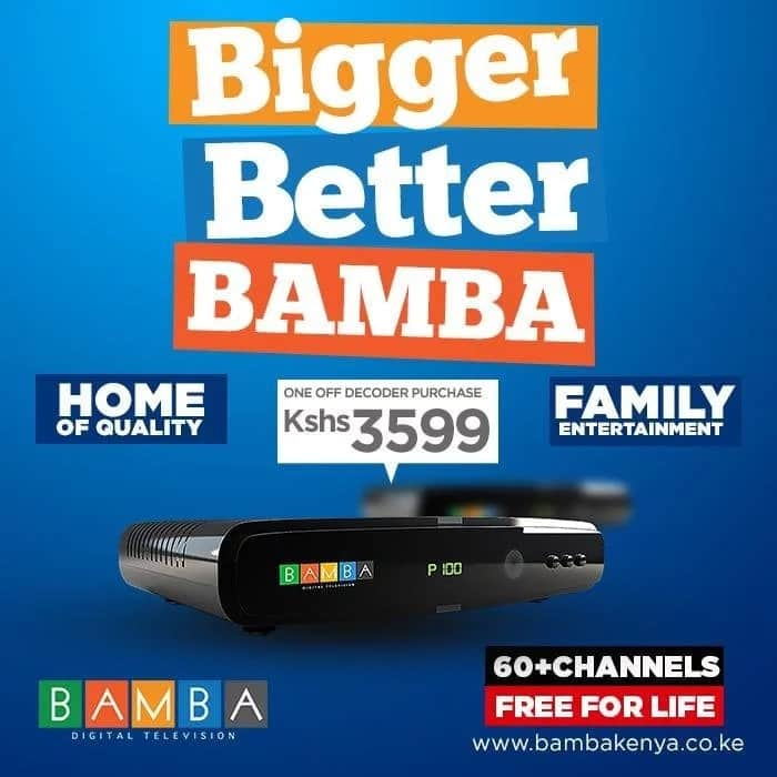 Bamba TV registration, channels, and costs ▷ Tuko co ke