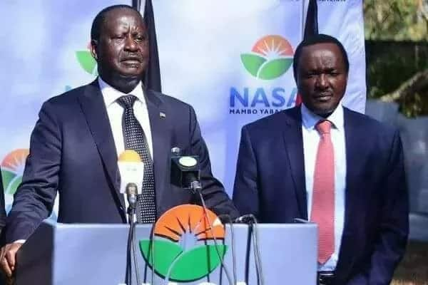 Raila Odinga says Nasa will not accept to be dictated to by Jubilee, who he insists they beat in the August election.