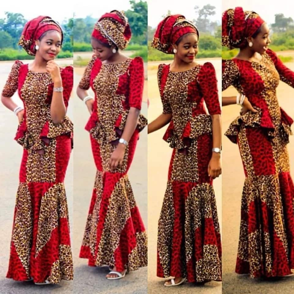 Kitenge dress designs for wedding