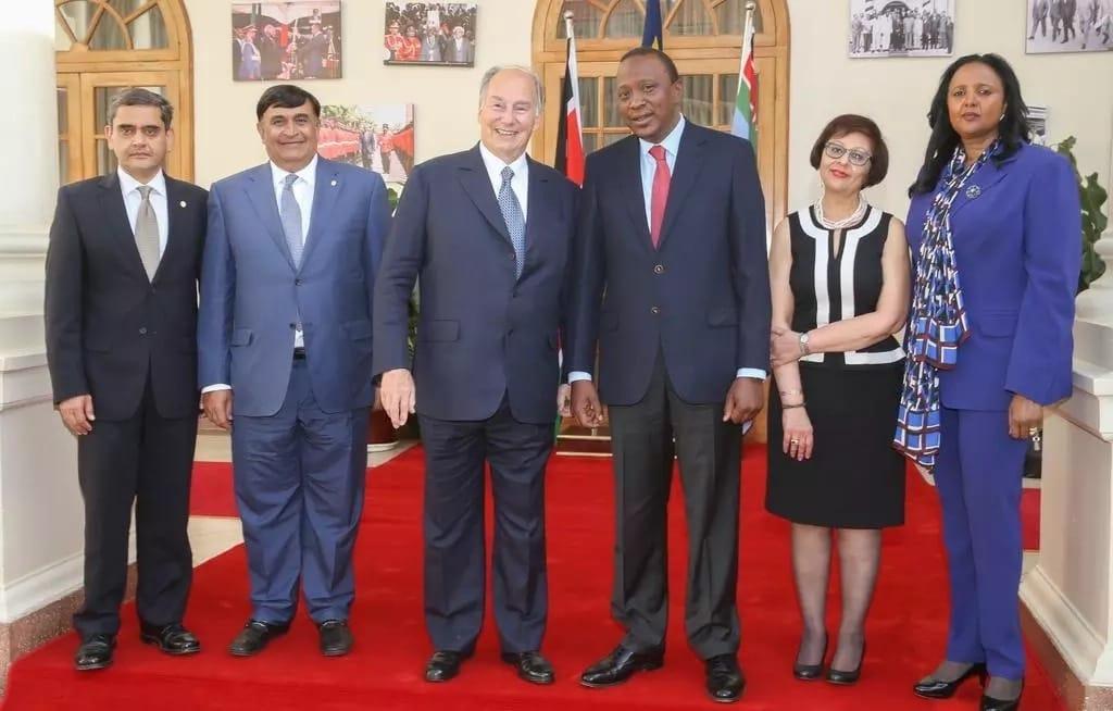 The Aga Khan meets Uhuru amidst rumours the president will buy Nation Media Group