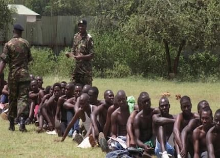 132 KDF recruits arrested with fake calling letters released, police blame KDF officials for frustrating prosecution