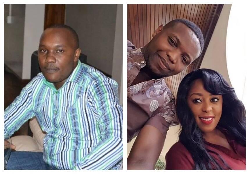 Linda Ogutu husband, Dennis
