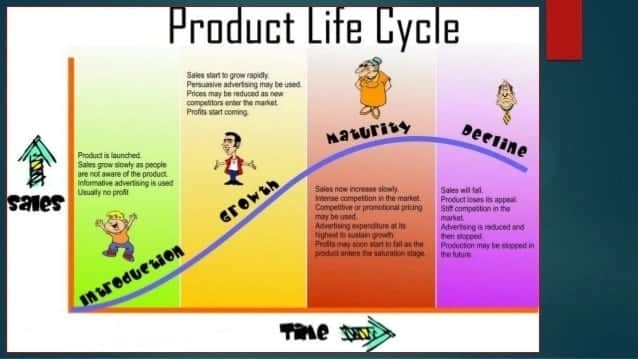 Product life cycle stages with examples