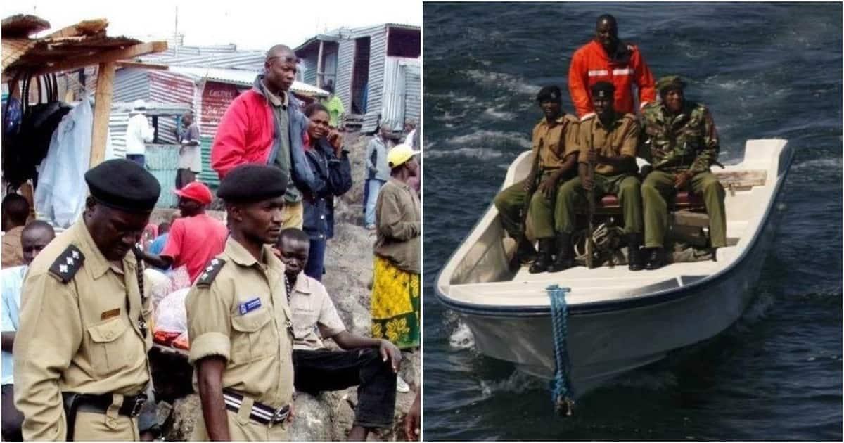 Ugandan soldiers arrest, detain 4 Kenyan police officers in Lake Victoria