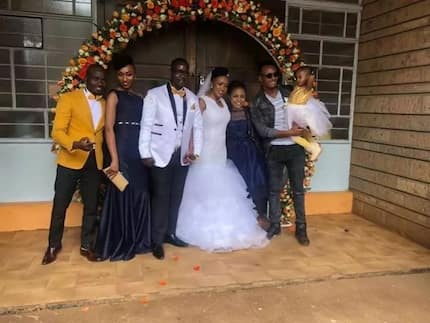 Take a look at the wedding photos from the elegant wedding of DJ Mo's sister