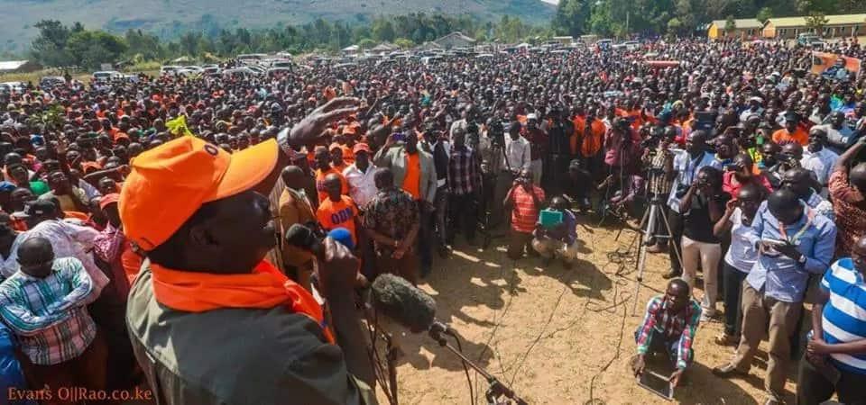 Video ya vijana wakipokea pesa ili kuhudhuria mkutano wa kisiasa wa Raila yaibuka