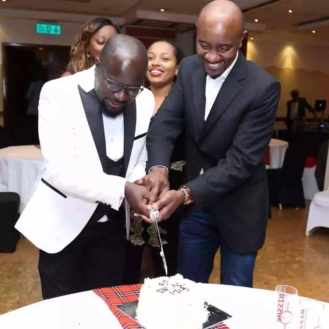 Picha za kupendeza za mtangazaji Gidi Gidi akiadhimisha miaka 50