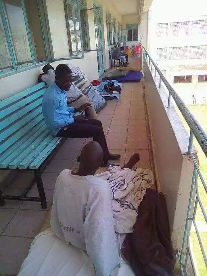 Uproar in Kisumu as patients sleep on hospital corridors at Jaramogi Oginga Odinga Referral hospital