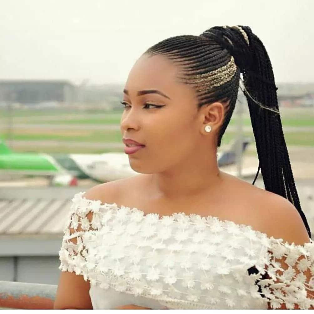 Beautiful Ghanaian Lines Hairstyles Tuko