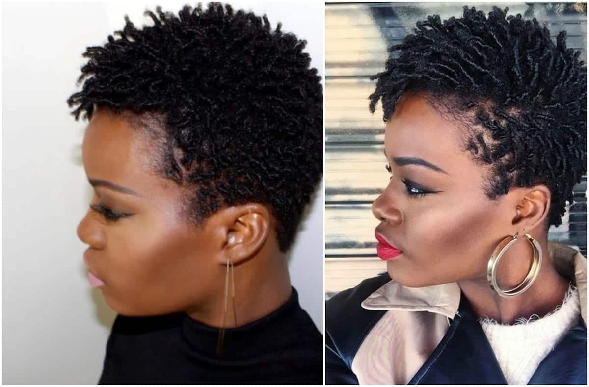 Style Natural Hair: 30 Gorgeous Twist Hairstyles For Natural Hair Tuko.co.ke