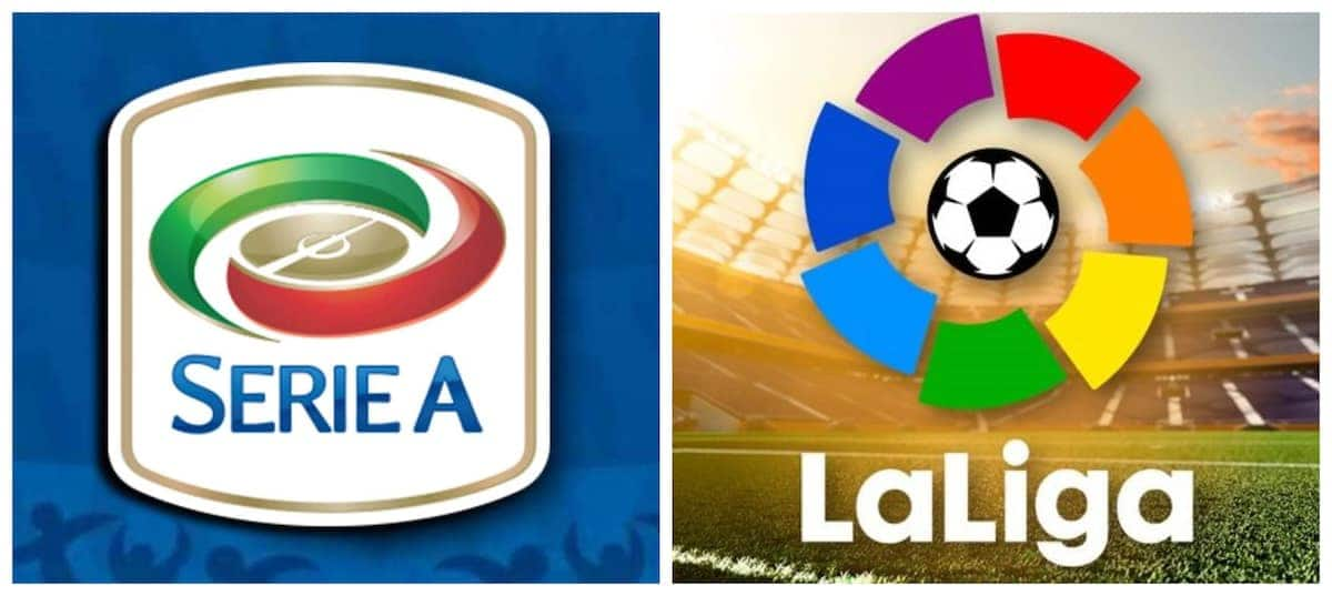 Serie A, La Liga
