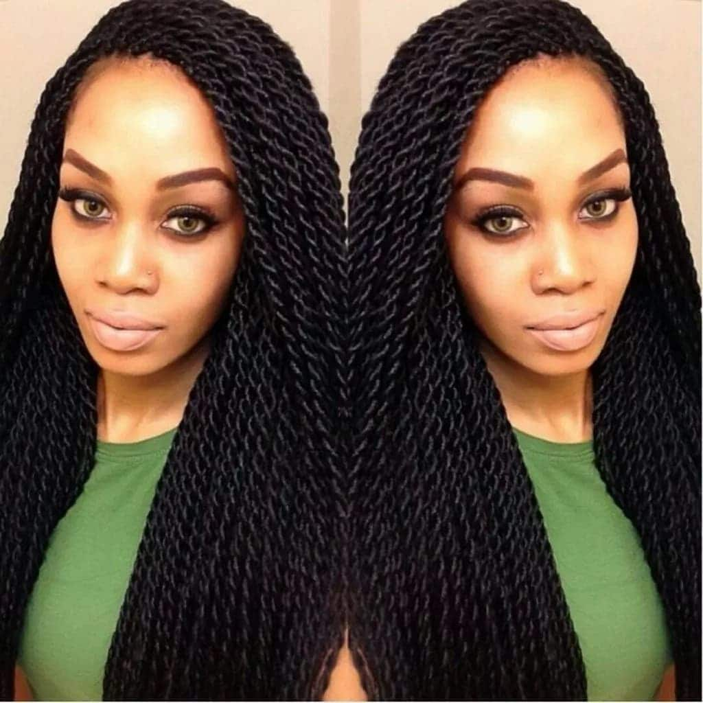 Latest Senegalese twist hairstyles
