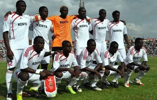 Harambee Stars rise to number 86 in latest FIFA rankings