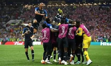 Historic moment for France as merciless Les Bleus hammer Croatia to lift the 2018 World Cup trophy