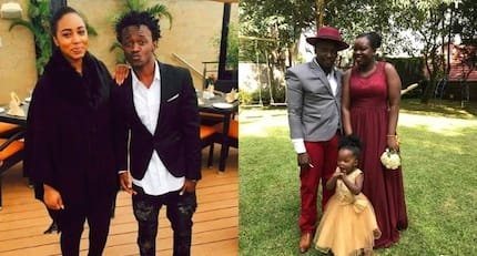 Is this the man dating Bahati's baby mama?