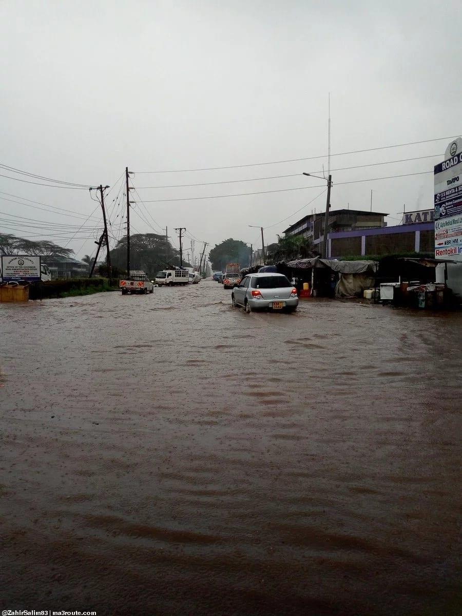 Mvua kubwa yasababisha harasa na kutatiza shughuli za kawaida Nairobi