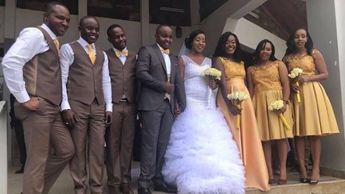 K24 presenters Joab Mwaura and Nancy Onyancha wedding photos Joab Mwaura K24 Joab Mwaura wedding