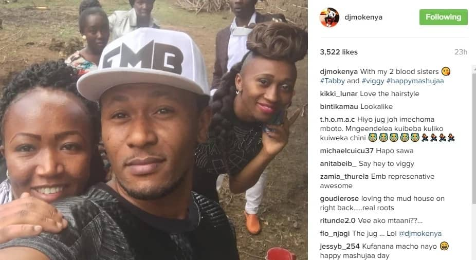 DJ Mo introduces his two beautiful sisters (photo)