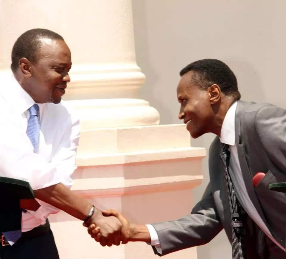 Drop Kaimenyi if you want to know peace - Njuri Ncheke elders tell Uhuru as he prepares cabinet