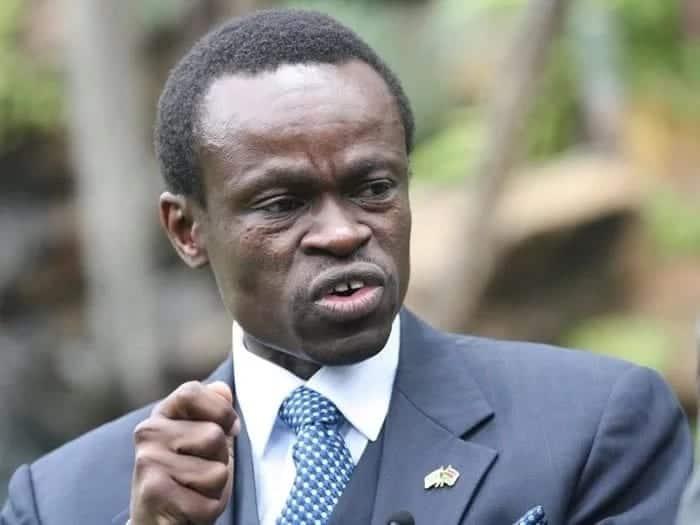 Constitutional lawyer and orator PLO Lumumba. Photo: PLO Lumumba.