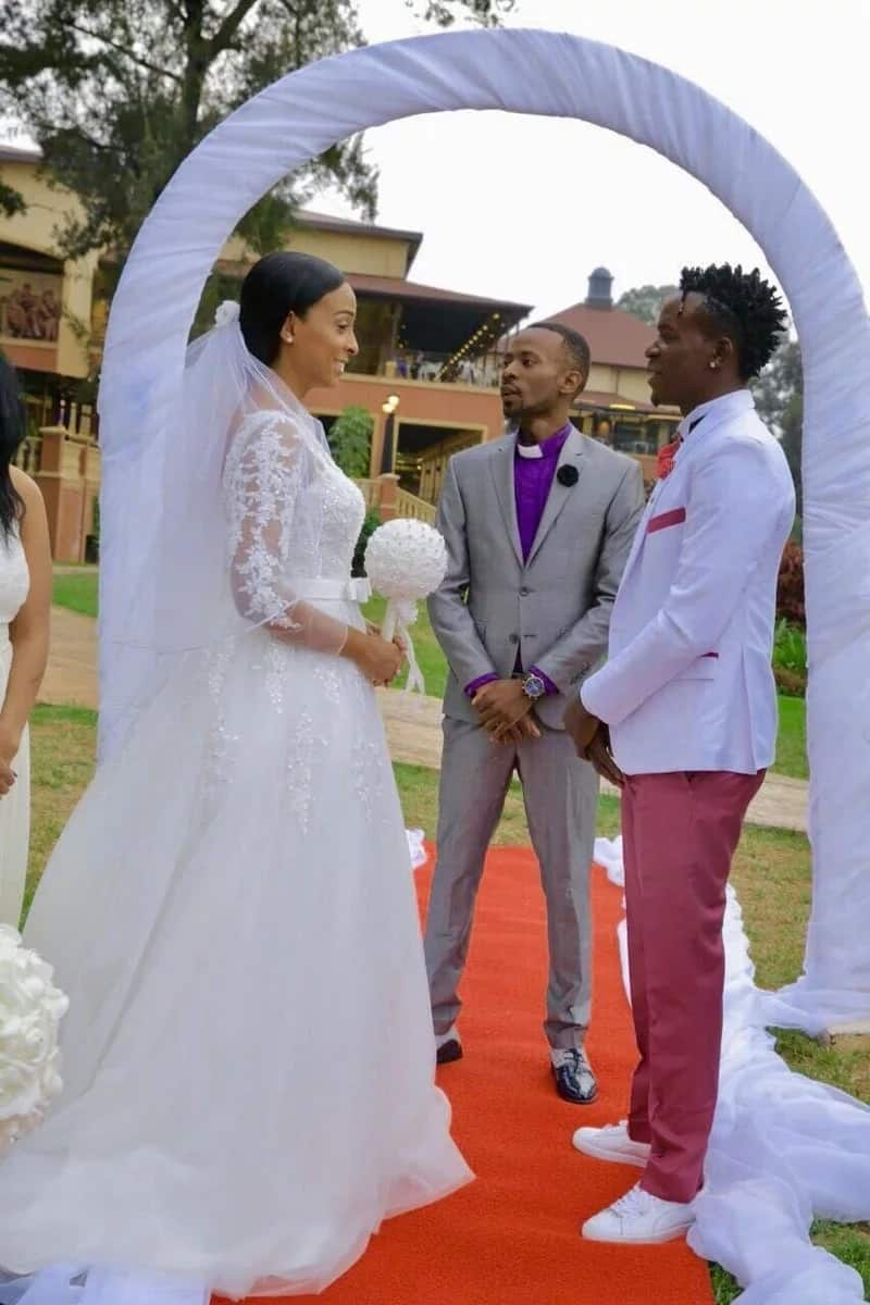 Willy Paul and Alaine married
