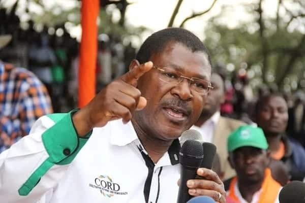 Wetangula joins Raila in Ghana for peace icon Koffi Anna's burial