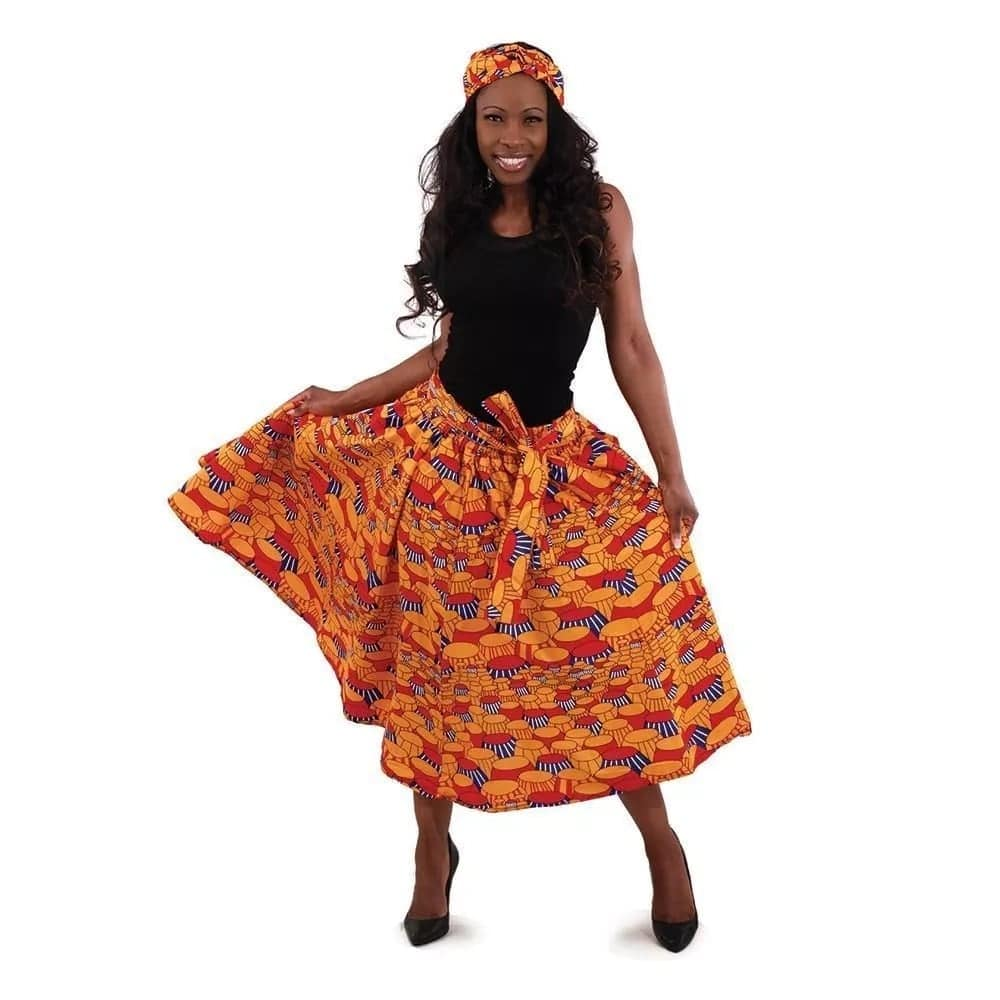 african print skirts, how to wear african print skirts, african print skirts kenya