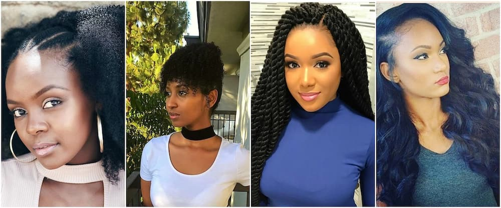 Best Black Hairstyles For Kenyan Girls Tuko.co.ke