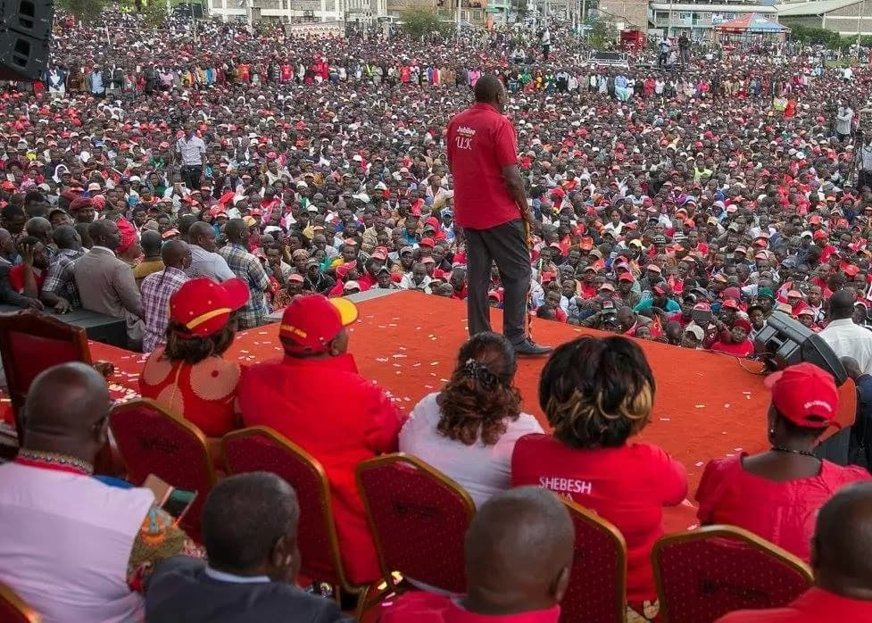 Uhuru is open to participating in the Presidential debate but on one condition