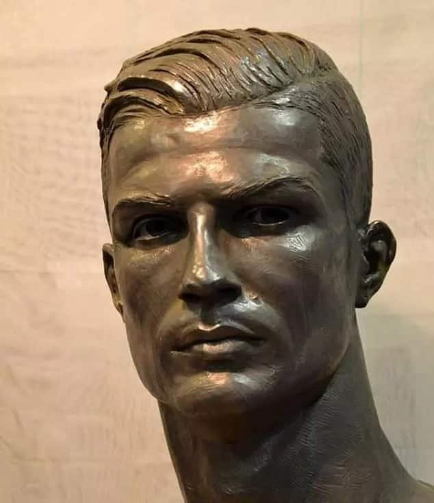 Real Madrid ace Cristiano Ronaldo honored with new statue - and this one looks just like him