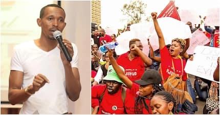Angry Nairobi anti-corruption crusaders heckle Nyali MP Moha Jicho Pevu for associating with Ruto