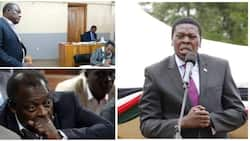 Ex-presidential candidate Jirongo released after CS Eugene Wamalwa deposits his car as surety