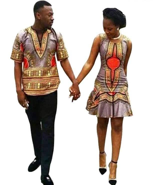 dashiki wear for couples