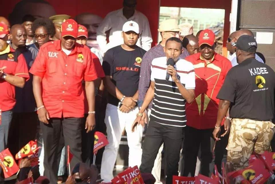 I disagree with Uhuru but I had to attend his rally-Moha Jicho Pevu
