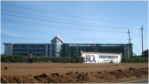 KCA university courses