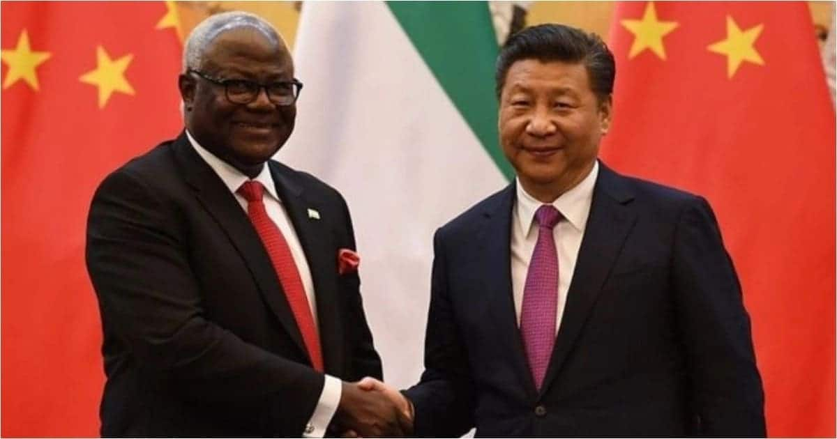 Sierra Leone's new president cancels KSh 31.8 billion Chinese-funded airport project