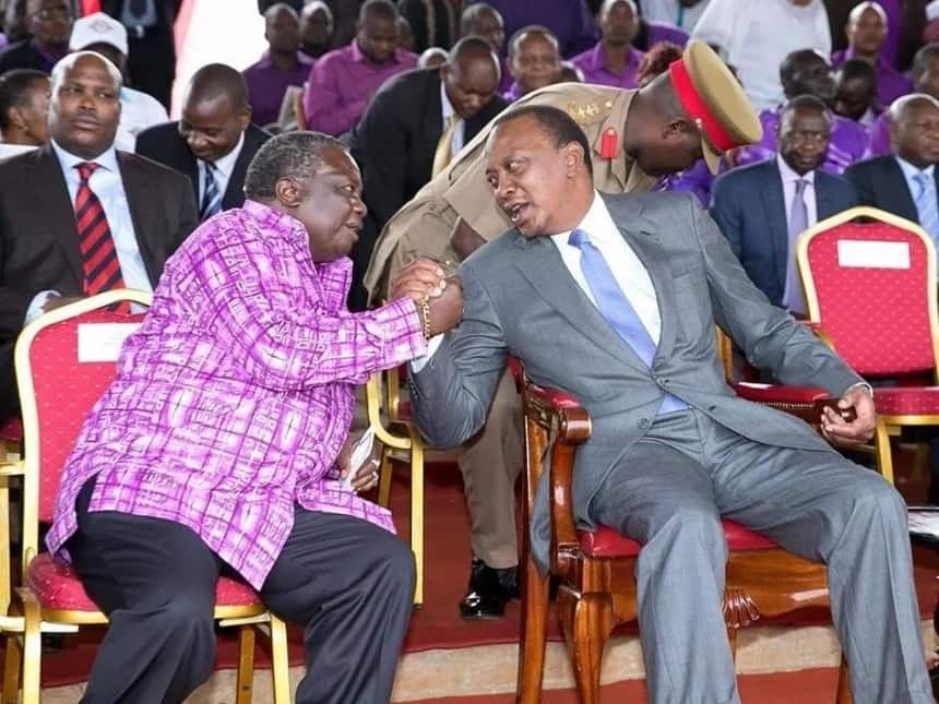 Uhuru, Raila headed to my advice of meeting without their insiders - Francis Atwoli