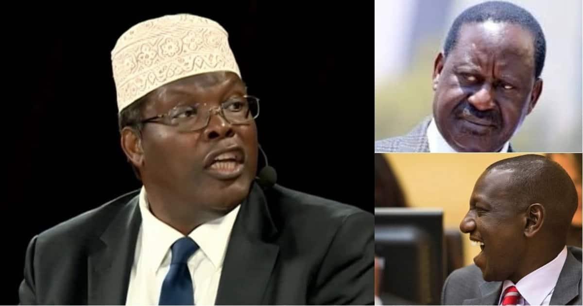 Miguna aunga mkono kampeni za Ruto za 2022, ampuuzilia mbali Raila